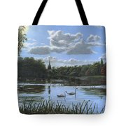 September Afternoon In Clumber Park Tote Bag by Richard Harpum