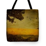 September Tote Bag by Lois Bryan