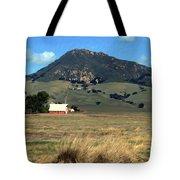 Serenity under Bishops Peak Tote Bag by Kurt Van Wagner