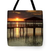 Setting Sun Tote Bag by Phill Doherty