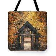 Seven Bridges Trail Head Tote Bag by Scott Norris
