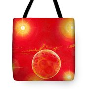 Seven Suns Tote Bag by Murphy Elliott