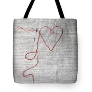 Sewing A Heart Tote Bag by Joana Kruse