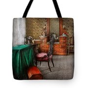 Sewing - Sewing Can Be Rewarding Tote Bag by Mike Savad