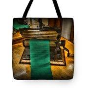 Sewing - The Victorian Seamstress  Tote Bag by Paul Ward