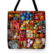 Shadow box collection Tote Bag by Garry Gay
