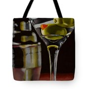 Shaken Not Stirred Tote Bag by Cory Still