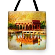 Shalimar Gardens Tote Bag by Catf