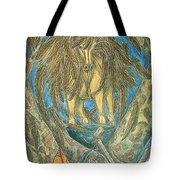 Shaman Spirit Tote Bag by Kim Jones