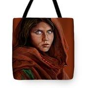 Sharbat Gula Tote Bag by Reggie Duffie
