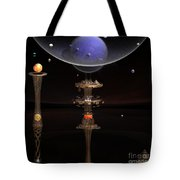 Shared Visions With Max Planck Tote Bag by Peter R Nicholls
