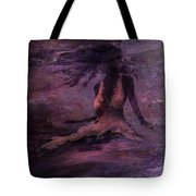 She Is The Wind Tote Bag by Rachel Christine Nowicki