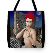 She Returns In Dreamland Tote Bag by Keith Dillon