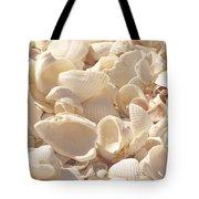 She Sells Seashells Tote Bag by Kim Hojnacki