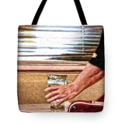 She Works Hard For The Money Tote Bag by Lois Bryan