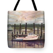 Shem Creek Tote Bag by Ben Kiger