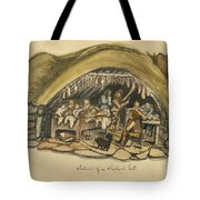 Shepherds Hut Iceland Circa 1962 Tote Bag by Aged Pixel