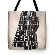 Sherlock - Benedict Cumberbatch Tote Bag by Ayse Deniz