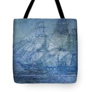 Ship 2 With Quote Tote Bag by Angelina Vick