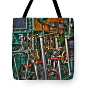 Ship Engine Tote Bag by Heiko Koehrer-Wagner