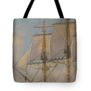 Ship-of-the-line Tote Bag by Elaine Jones