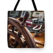 Ships Wheel Tote Bag by Dale Kincaid