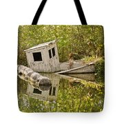 Shipwreck Silver Springs Florida Tote Bag by Christine Till