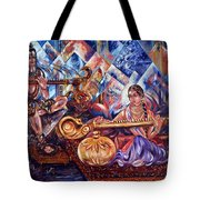 Shiva Parvati Tote Bag by Harsh Malik