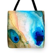 Shoreline - Abstract Art By Sharon Cummings Tote Bag by Sharon Cummings