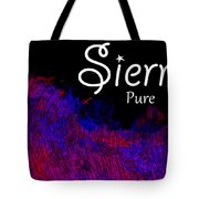 Sierra - Pure Tote Bag by Christopher Gaston