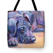 Sigh Tote Bag by Kimberly Santini