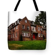 Sigma Phi Epsilon Fraternity On The Wsu Campus Tote Bag by David Patterson
