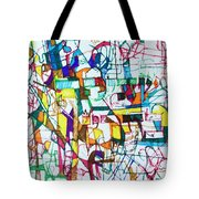 Silence Is Worth Double Tote Bag by David Baruch Wolk