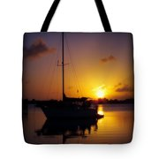 SILENCE of NIGHT Tote Bag by KAREN WILES