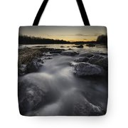 Silky River Tote Bag by Davorin Mance