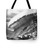 Silver Lining Tote Bag by Sean Davey