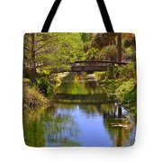 Silver Springs Florida Tote Bag by Christine Till