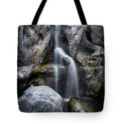 Silver Waterfall Tote Bag by Carlos Caetano