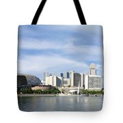 Singapore Waterfront Tote Bag by Mountain Dreams