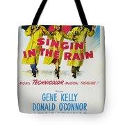 Singin In The Rain Tote Bag by Georgia Fowler