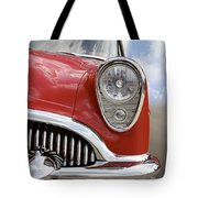Sitting Pretty - Buick Tote Bag by Mike McGlothlen