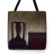 Sitting Room at Dusk Tote Bag by Margie Hurwich