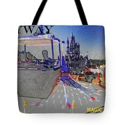 Skway Magic Kingdom Tote Bag by David Lee Thompson