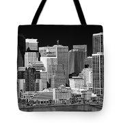 Skyline San Francisco Tote Bag by Ralf Kaiser