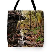 Slate Bottom Creek Tote Bag by Benjamin Yeager