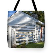 Slave Huts On Southern Farm Tote Bag by Brian Jannsen