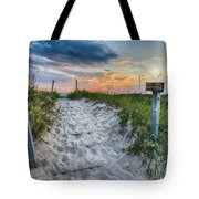 Sleeping Bear National Lakeshore Sunset Tote Bag by Sebastian Musial
