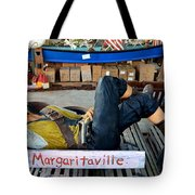 Sleeping Pirate Tote Bag by Carla Parris