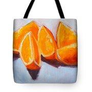 Sliced Tote Bag by Nancy Merkle
