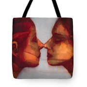 Small Mirror Twin Tote Bag by Graham Dean